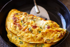 manchego omelet