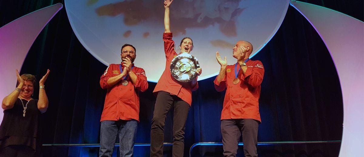 Amanda Ray Wins Gold at Toronto Gold Medal Plates
