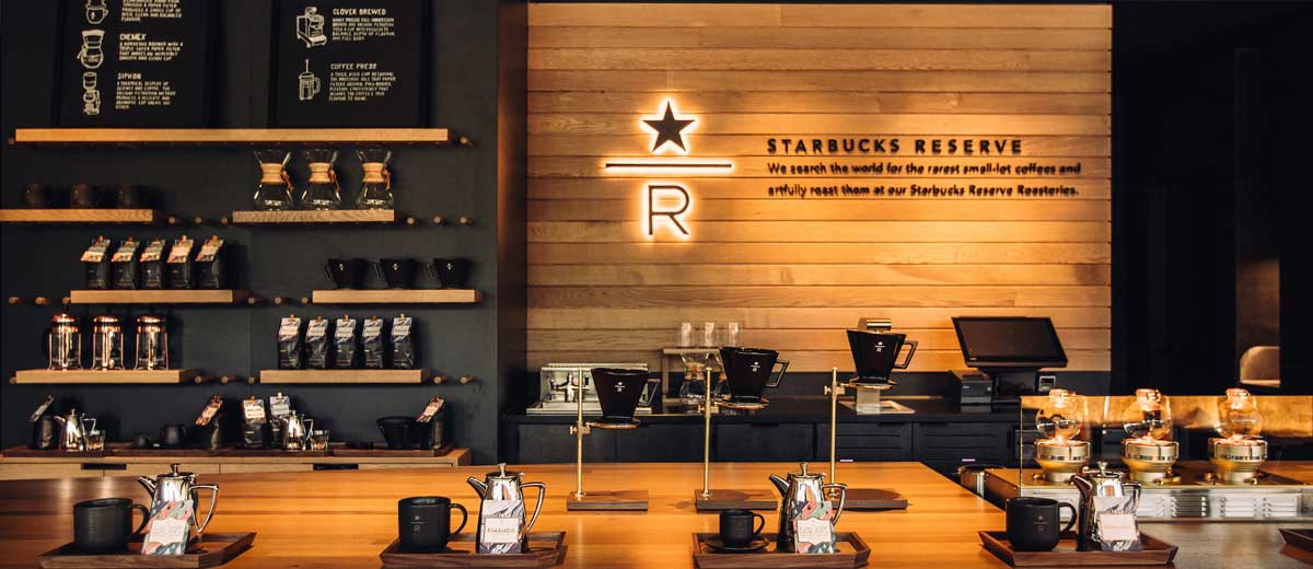 Starbucks Reserve Bar Opening In Downtown Vancouver