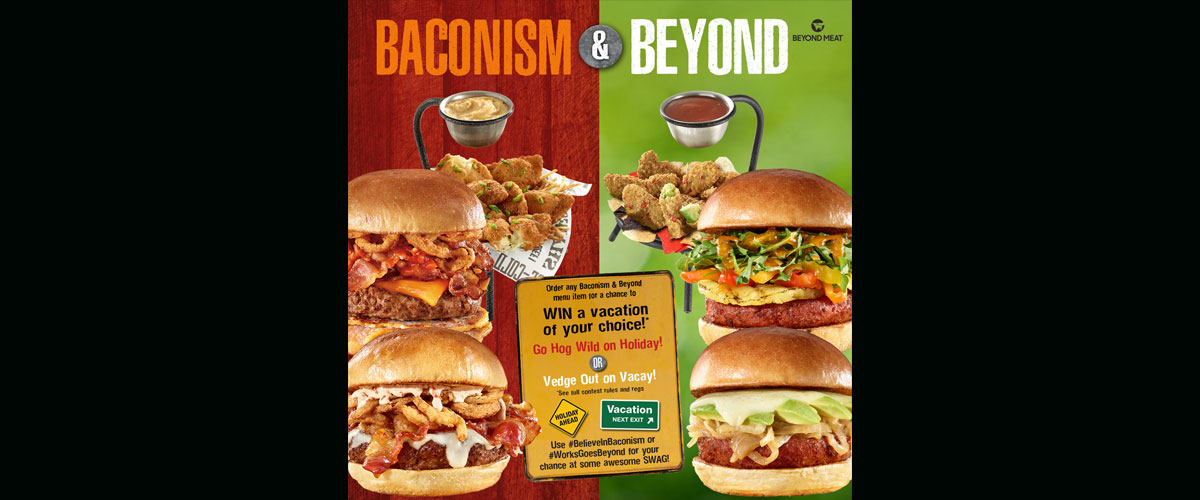 The Works Oakville >> The Works Launches New Bacon Burger Beyond Meat Options