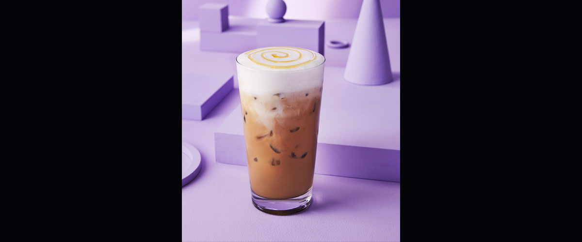 Starbucks Launches Honeycomb Lavender Latte In Canada
